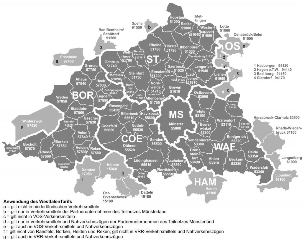 Ruhr Lippe Netz